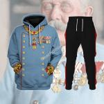 Gearhomies Tracksuit Hoodies Pullover Sweatshirt Archduke Franz Ferdinand of Austria Historical 3D Apparel