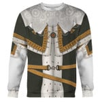 Gearhomies Unisex Sweatshirt Charles I of England 3D Apparel