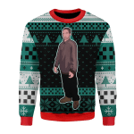 Merry Christmas Gearhomies Unisex Christmas Sweater Robert Pattinson Meme
