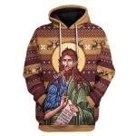 Gearhomies Unisex Hoodie St. John the Baptist 3D Apparel