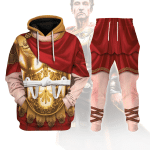 Gearhomies Tracksuit Hoodies Pullover Sweatshirt Caesar Augustus Historical 3D Apparel
