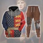 Gearhomies Tracksuit Hoodies Pullover Sweatshirt Henry V of England Historical 3D Apparel