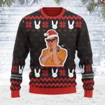 Merry Christmas Gearhomies Unisex Ugly Christmas Sweater Bad Bunny 3D Apparel