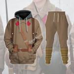 Gearhomies Tracksuit Hoodies Pullover Sweatshirt Red Army in Winter War 39-40 Historical 3D Apparel