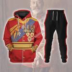 Gearhomies Tracksuit Hoodies Pullover Sweatshirt King George V Historical 3D Apparel