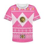 Gearhomies Pink Power Rangers Kid T-Shirt