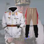 Gearhomies Tracksuit Hoodies Pullover Sweatshirt Erwin Rommel Historical 3D Apparel