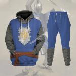 Gearhomies Tracksuit Hoodies Pullover Sweatshirt Knight of Edessa Historical 3D Apparel