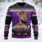 Merry Christmas Gearhomies Unisex Ugly Christmas Sweater King Of LA 3D Apparel