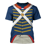 Gearhomies Unisex T-Shirt US Marine 1810-1815 3D Apparel