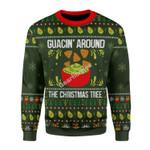 Merry Christmas Gearhomies Unisex Christmas Sweater Guacin Around The Christmas Tree