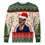Merry Christmas Gearhomies Unisex Christmas Sweater Neil Degrasse Tyson 3D Apparel