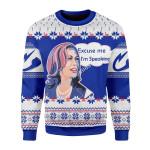 Merry Christmas Gearhomies Unisex Christmas Sweater Kamala Harris Excuse Me I'm Speaking 3D Apparel