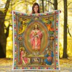 Gearhomies Blanket Eastern Orthodox Jesus