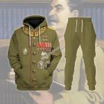 Gearhomies Tracksuit Hoodies Pullover Sweatshirt Joseph Stalin Historical 3D Apparel