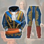 Gearhomies Tracksuit Hoodies Pullover Sweatshirt Philip V of Spain Historical 3D Apparel