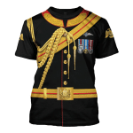 Gearhomies Unisex T-Shirt Prince Harry 3D Apparel