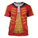 Gearhomies Unisex T-Shirt Henry Clinton 3D Apparel