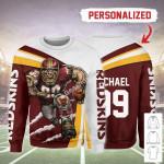 Gearhomies Personalized Unisex Sweatshirt Washington Football Team 3D Apparel