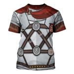Gearhomies Unisex T-Shirt Roman Centurion 3D Apparel