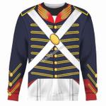 Gearhomies Unisex Sweatshirt War of 1812 (1812-1815) US Army 3D Apparel