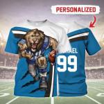 Gearhomies Personalized Unisex T-Shirt Detroit Lions Football Team 3D Apparel
