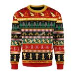 Merry Christmas Gearhomies Unisex Christmas Sweater D**ck 3D Apparel