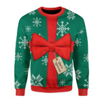 Merry Christmas Gearhomies Unisex Christmas Sweater Present 3D Apparel