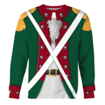 Gearhomies Unisex Sweatshirt American Revolution Continental Marine Corps 3D Apparel