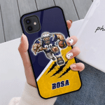 Gearhomies Personalized Phone Case Los Angeles Chargers With Iphone