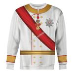 Gearhomies Unisex Sweatshirt Rudolf - Crown Prince of Austria 3D Apparel