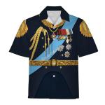 Gearhomies Unisex Hawaiian Shirt Nicholas II of Russia Historical 3D Apparel