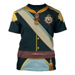 Gearhomies Unisex T-Shirt Pedro V of Portugal 3D Apparel