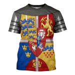 Gearhomies Unisex T-Shirt Royal Arms of Scotland 3D Apparel