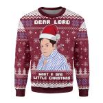 Merry Christmas Gearhomies Unisex Christmas Sweater What A Sad Little Christmas 3D Apparel