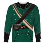 Gearhomies Unisex Sweatshirt 95th Rifles British Army 3D Apparel