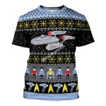 Gearhomies Unisex T-shirt Star Trek 3D Apparel