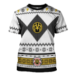 Gearhomies White Power Rangers T-Shirt