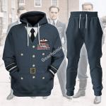 Gearhomies Tracksuit Hoodies Pullover Sweatshirt James Edgar 'Johnnie' Johnson Historical 3D Apparel