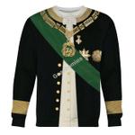 Gearhomies Unisex Sweatshirt Camillo Benso, Count of Cavour 3D Apparel