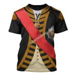 Gearhomies Unisex T-Shirt John Jervis 1st Earl of St Vincent  3D Apparel