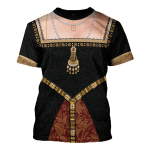 Gearhomies Unisex T-Shirt Anne Boleyn 3D Apparel
