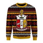 Merry Christmas Gearhomies Unisex Christmas Sweater Kappa Alpha Psi 3D Apparel