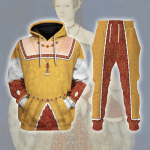 Gearhomies Tracksuit Hoodies Pullover Sweatshirt Catherine Parr Historical 3D Apparel