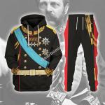 Gearhomies Tracksuit Hoodies Pullover Sweatshirt Alexander II of Russia Historical 3D Apparel