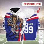 Gearhomies Personalized Unisex Tracksuit Hoodies Buffalo Bills Football Team 3D Apparel