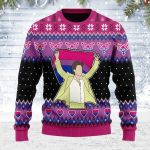 Merry Christmas Gearhomies Unisex Ugly Christmas Sweater LGBT Bisexual Flag Harry Christmas 3D Apparel