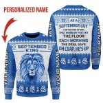 Gearhomies Personalized Name Christmas Sweater September Guy I'm The Kind Of Man 3D Apparel