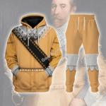 Gearhomies Tracksuit Hoodies Pullover Sweatshirt Gustavus Adolphus of Sweden Historical 3D Apparel