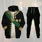 Gearhomies Tracksuit Hoodies Pullover Sweatshirt Camillo Benso, Count of Cavour Historical 3D Apparel